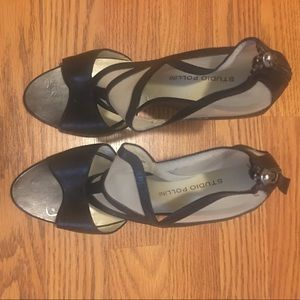 Beautiful black sandals